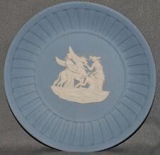 kleine Schale, Pegasus, Wedgwood, Jasper Ware, blau