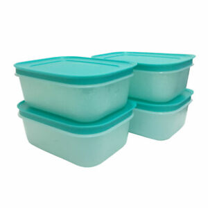 Tupperware 2 In 1 Chill Freez Turquoise - BPA Free - Free Shipping
