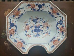 Plat De Barbier De La Compagnie Des Indes Octogonal Barber Plate Chinese Antique