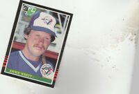 FREE SHIPPING-MINT-1985 Donruss Leaf #181 Ernie Whitt Toronto Blue Jays