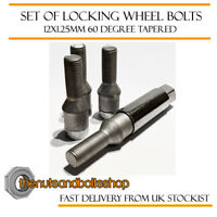 DADI delle ruote /& LOCK 12x1.25 Bulloni Per Nissan 200SX S110 16 +4 MK1 79-83