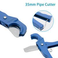PVC PIPE CUTTER 42MM CAPACITY RATCHET ACTION CUTS PVC PLASTIC SPEEDFIT NEW