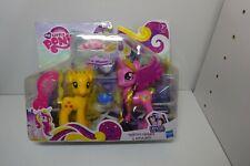 My Little Pony FIM Crystal Princess Princess Cadance & Applejack Play Set