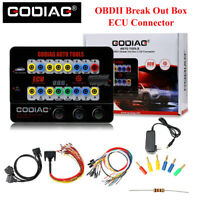 Latest OBDII Break Out Box ECU Connector GODIAG GT100 AUTO TOOLS Original