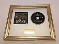 SIGNED/AUTOGRAPHED RISE AGAINST - THE GHOST NOTE SYMPHONIES VOLUME 1 FRAMED CD