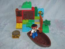 Lego Duplo Jake & Neverland Pirates Set 10512 Jake's Treasure Hunt - Complete
