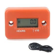 Digital Hour Meter Gauge for Gasoline Engine Car Motorcycle 0.1/99999Hrs R8B9