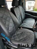 MERCEDES VITO VAN W639 2003-2014 ECO LEATHER EMOBOSSED TAILORED SEAT COVERS