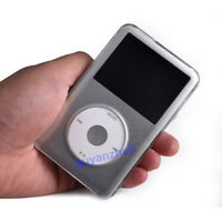 Clear Crystal Plastic Cover Case For Apple iPod Video 30GB Classic 80 120 160GB