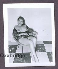 Big Fat Huge Nipples Large Boobs Breasts 1950 Original Nude Pinup Photo B3533