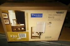 PROGRESS LIGHTING ALEXA COLLECTION - VANITY - W/CLEAR ETCHED GLASS #650057
