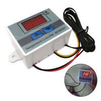 Temperature Controller Thermostat 220V Digital Display LED Controls Switch Probe
