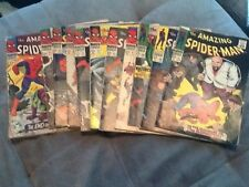 Spider-man comics  (11) silver age lot  #40-49 and #51