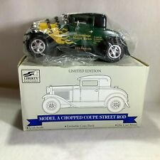 Liberty Classics Model A Chopped Coupe Street Rod Lockable Coin Bank