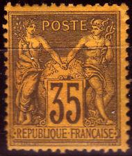 Frankreich 75 a *, 35 C. Allegorie (Michel 420,00)