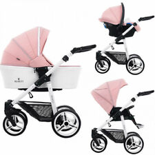 Venicci Pure 2 in 1 Pram and Pushchair in Rose With Bag & Raincover