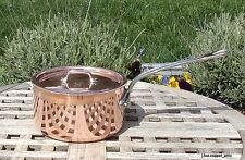 Mauviel 1830 Copper 1.9 Qt Saucepan w/ Lid, Made in France  NEW