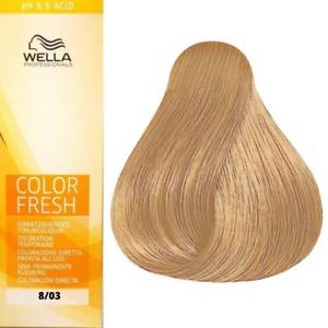 Wella Color Fresh Toning 8/03 Light Blonde 75ml