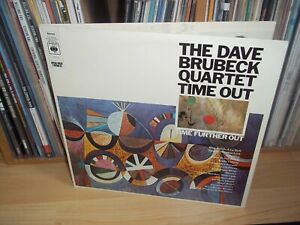 THE DAVE BRUBECK QUARTET Time out / Time further out UK CBS 2xLP Full Play Test
