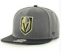 Las Vegas Golden Knights Hat '47 Snapback Black/Grey NHL Hockey hat cap new