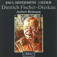 Paul Hindemith - Hindemith Lieder [CD]