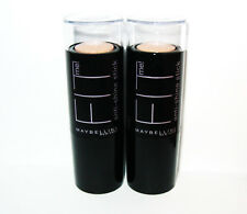 2x MAYBELLINE FIT me! anti-shine stick / Abdeckstift BUFF BEIGE 130 - PRALINE