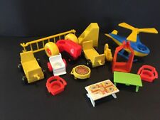 Vintage Fisher Price Little People Mixed Low Grade Parts Lot