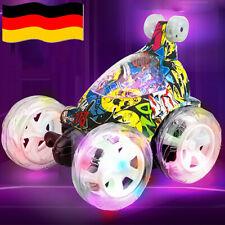 Ferngesteuertes Auto RC Stunt Auto Spielzeug Rennfahrzeug für Jungen Mädchen Neu