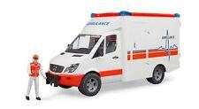 "BRUDER® 02536  "" MB Sprinter Ambulanz mit Sanitäter "", NEU & OVP"