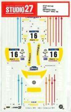 """STUDIO27 1/24 SUBARU IMPREZA WRX """"Bulgari"""" WRC '98 for Hasegawa DC145 Decal"""