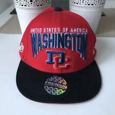 Washington DC Freegun Official Product Hat Cap Red & Black Used