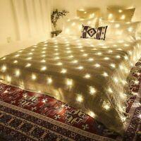 3m LED Luci Rete Catena Indoor Esterno Tenda Luce Fata Natale Nozze Partito Xmas