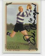 2003  HALL OF FAME FRED FLANAGAN  CARD  SIGNED / MINT CONDITION