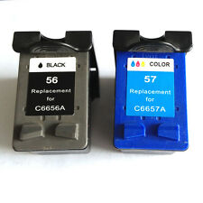 Ink Cartridge for HP 56/57(Black/Color) Deskjet 5550 Printer
