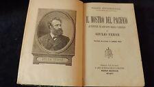 Giulio Verne: Il mostro del Pacifico avventure di Giovanni Maria Cabidulin 1903