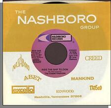 """The Gospel Keynotes - Ride The Ship To Zion + Show Me The Way - 7"""" Single!"""