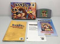 Nintendo 64 N64 Banjo Tooie Complete in Box CIB *Authentic/Cleaned/Tested*