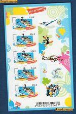 France La Feuille F271 Fete du Timbre Vil Coyotte Bip-Bip 2009 Neuf