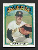 1972 Topps O-Pee-Chee OPC #39 Bob Barton Padres PACK FRESH Looking NM-MT/MINT
