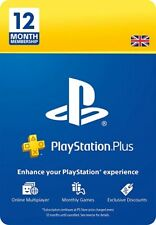 Sony Playstaion Plus Membership 12 Months Ps4 Ps5 - Brand New