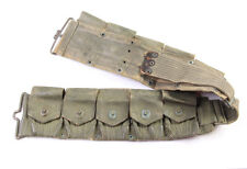 Ceinturon US Springfield M-1917 camouflé WW1-WW2 (matériel original)