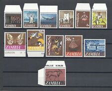 More details for zambia 1968 sg 129/40 mnh cat £17