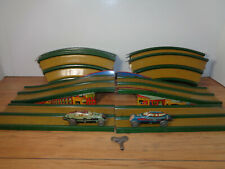 MARX STREAMLINE SPEEDWAY - TWO WORKING CARS AND TRACK