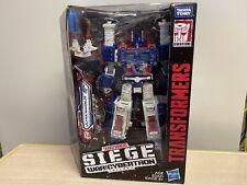 Transformers Siege Ultra Magnus Leader Class, New