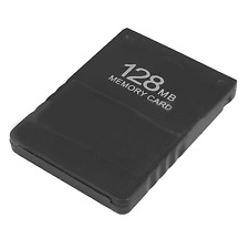 New 128MB Memory Save Card For PS2 Sony Playstation 2 Game Data MB Stick #254