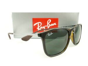 Ray-Ban Sunglasses RB4187 Chris Havana Green 710/71 Authentic New