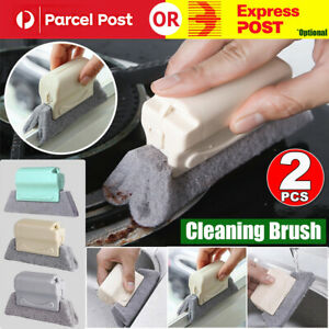 2x Creative Groove Cleaning Brush Magic Window Cleaning Brush Clean Corners AUS