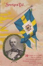 Postcard Oscar Ii King of Sweden