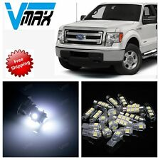 7 pieces White LED bulbs Interior Package Kit for 2009-up Ford F-150