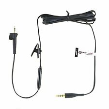 HeadphoneMate Inline Remote Mic Cable for Bose AE2 AE2w & iPhone, iPad and iPod
